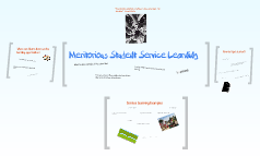Meritorious Student Service Learning