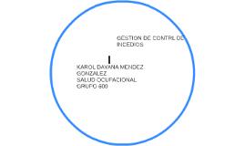 GESTION DE CONTRL DE INCEDIOS