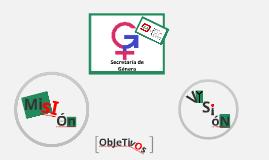 Secretaría de género