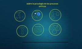 Copy of Sobre la psicología de los procesos oníricos