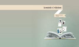 Week 9.2--Semiotic Criticism