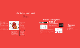 Control of heart beat