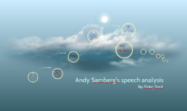 Andy Samberg's speech anaylis