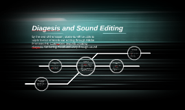 Diagesis and Sound Editing