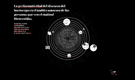 La performatividad del discurso del horóscopo en el ámbito a
