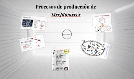 Procesos de producción de Streptomyces final