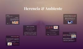 Copy of Herencia & Ambiente