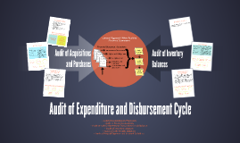 Audit of Expenditure and Disbursement Cycle