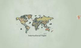 2018 International Night