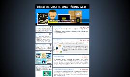 CICLO DE VIDA DE UNA PÁGINA WEB