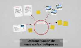 Documentación de mercancia peligrosa