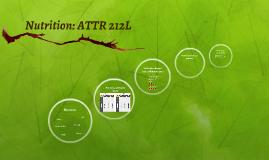 ATTR 212: Nutrition