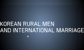 Korean Rural Men