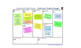 Paolo Leva - Business Model Canvas