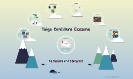 Taiga Cordillera Ecozone