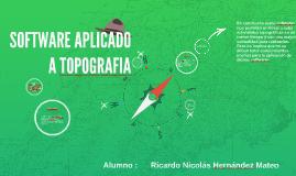 Copy of SOFTWARE APLICADO A TOPOGRAFIA