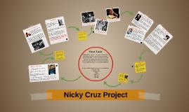 Nicky Cruz investigation wall