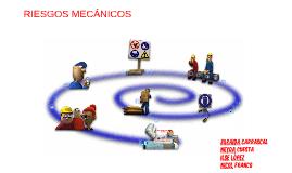 RIESGOS MECÁNICOS