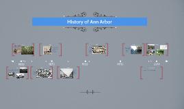 History of Ann Arbor Timeline