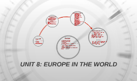 UNIT 8: EUROPE IN THE WORLD