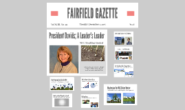 FAIRFIELD GAZETTE Mostly Pix