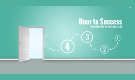 Copia de Door to Success - Prezi Template