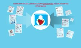 INSTRUCTIVO PARA LA PREPARACION QUIRURGICA DE LOS PACIENTES