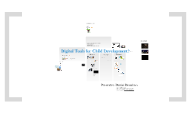 Digital Tools for Early Childhood Development
