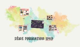 2eme formation ipad
