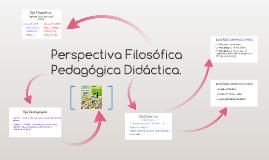 Perspectiva Filosofica Pedagogica Didactica.