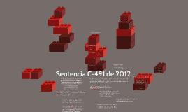 Copy of Sentencia C-491 de 2012