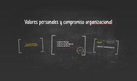 compromiso organizacional