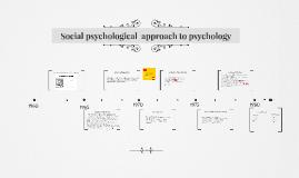 social psychology approach