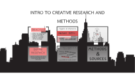 INTRO TO CREATIVE RESEARCH AND METHODS