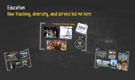 Teaching, Diversity, and Service