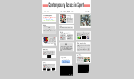 Copy of Contemporary Issues in Sport