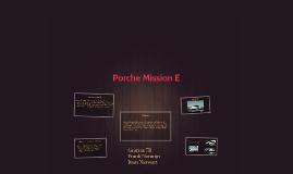 Porche Mission E