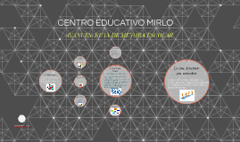 CENTRO EDUCATIVO MIRLO