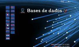 O que são base de dados?