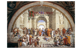 Renaissance: Literature, language, writings and education