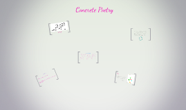 Copy of Concrete Poetry