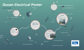 Ocean Electrical Power