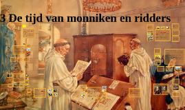 Memo 1HV H3 De tijd van monniken en ridders