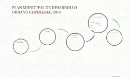 PLAN MUNICIPAL DE DESARROLLO URBANO COYOTEPEC 2014