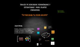 Taller de recursos pedagógicos y estrategias  para clases di