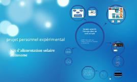 batterie diapo kit solaire autonome