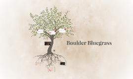 Boulder Bluegrass:
