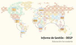Informe de Gestión - DEGP