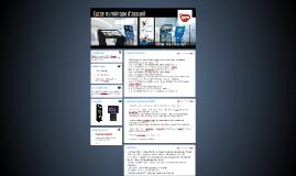 Ecran numérique d'accueil IFIS