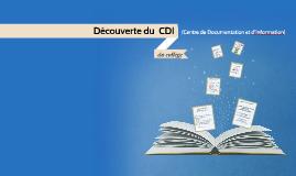 Copie de Découverte du CDI du collège